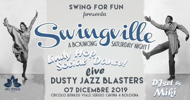 Swingville VOL 3 - Dusty Jazz Blasters LIVE