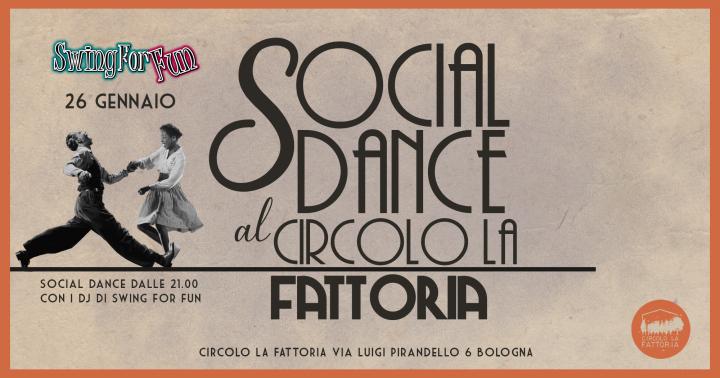 Social Dance al circolo La Fattoria