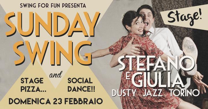 Sunday Swing Vol 3  - Workshop con Stefano & Giulia