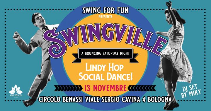 Swingville - a Bouncing Saturday Night - Vol 1